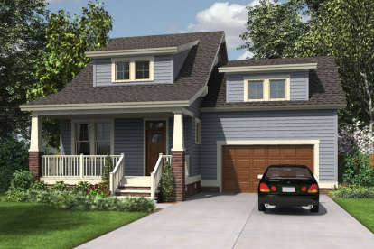 4 Bed, 2 Bath, 2120 Square Foot House Plan - #4351-00011