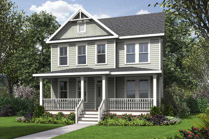 4 Bed, 3 Bath, 2096 Square Foot House Plan - #4351-00012