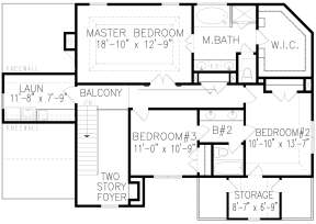 Second Floor for House Plan #699-00121