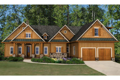 4 Bed, 4 Bath, 2736 Square Foot House Plan - #699-00122