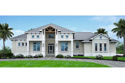 4 Bed, 3 Bath, 3130 Square Foot House Plan #207-00068