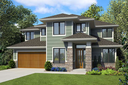 4 Bed, 3 Bath, 2792 Square Foot House Plan #2559-00812