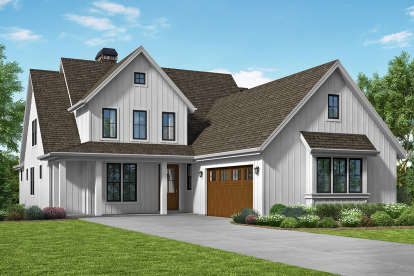 3 Bed, 2 Bath, 2490 Square Foot House Plan - #2559-00813