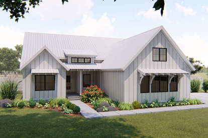 3 Bed, 2 Bath, 1797 Square Foot House Plan - #963-00325