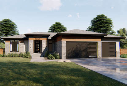 3 Bed, 2 Bath, 1824 Square Foot House Plan #963-00326