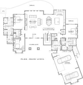 Main Floor for House Plan #5829-00026