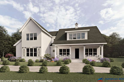 3 Bed, 2 Bath, 3121 Square Foot House Plan #6849-00065