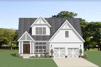 3 Bed, 2 Bath, 2337 Square Foot House Plan - #6849-00067