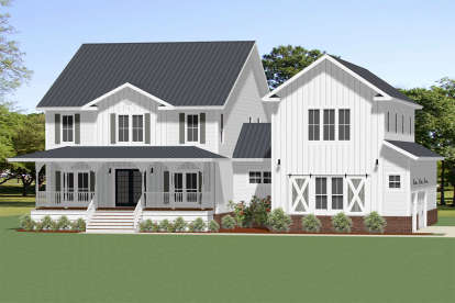 3 Bed, 3 Bath, 2915 Square Foot House Plan - #6849-00071