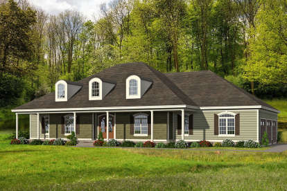 4 Bed, 4 Bath, 3617 Square Foot House Plan - #940-00137