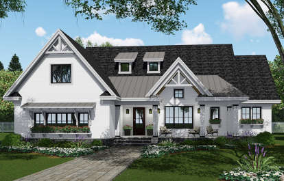 4 Bed, 3 Bath, 2751 Square Foot House Plan - #098-00308