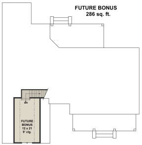 Second Floor for House Plan #098-00309