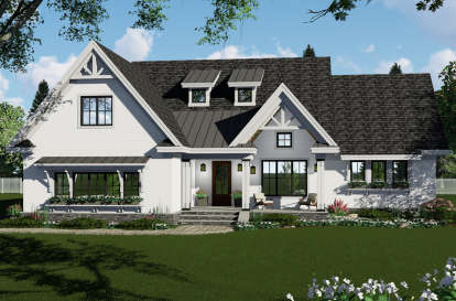 3 Bed, 2 Bath, 2148 Square Foot House Plan - #098-00310