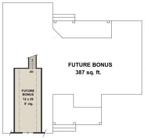 Second Floor for House Plan #098-00310
