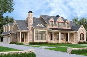 French Country House Plan #8594-00014 Elevation Photo