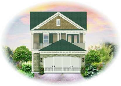 3 Bed, 2 Bath, 1721 Square Foot House Plan - #053-00025