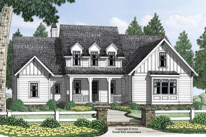 3 Bed, 3 Bath, 2667 Square Foot House Plan - #8594-00018