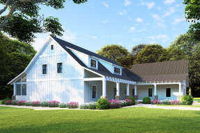 Modern Farmhouse House Plan #8318-00108 Elevation Photo