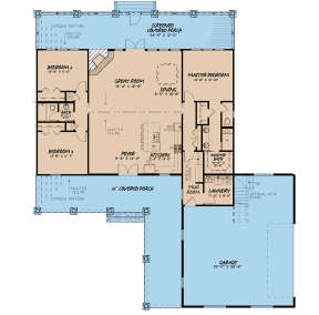 Main Floor for House Plan #8318-00108