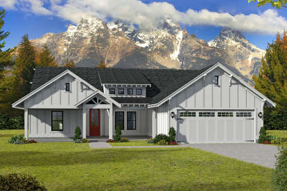 3 Bed, 2 Bath, 2095 Square Foot House Plan - #940-00144