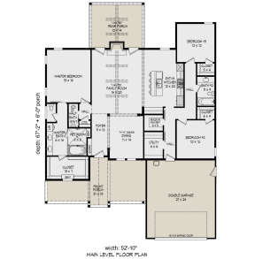 Main Floor for House Plan #940-00144