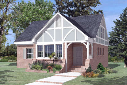 3 Bed, 2 Bath, 1674 Square Foot House Plan #5633-00423