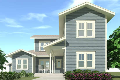 4 Bed, 3 Bath, 2394 Square Foot House Plan - #028-00047