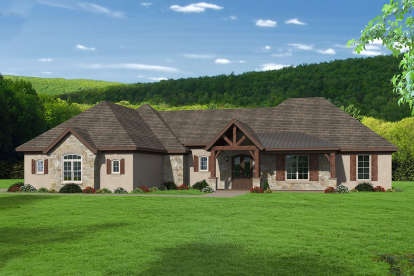 3 Bed, 2 Bath, 3012 Square Foot House Plan #940-00150