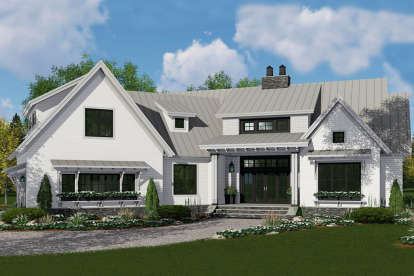 4 Bed, 3 Bath, 2150 Square Foot House Plan #098-00312