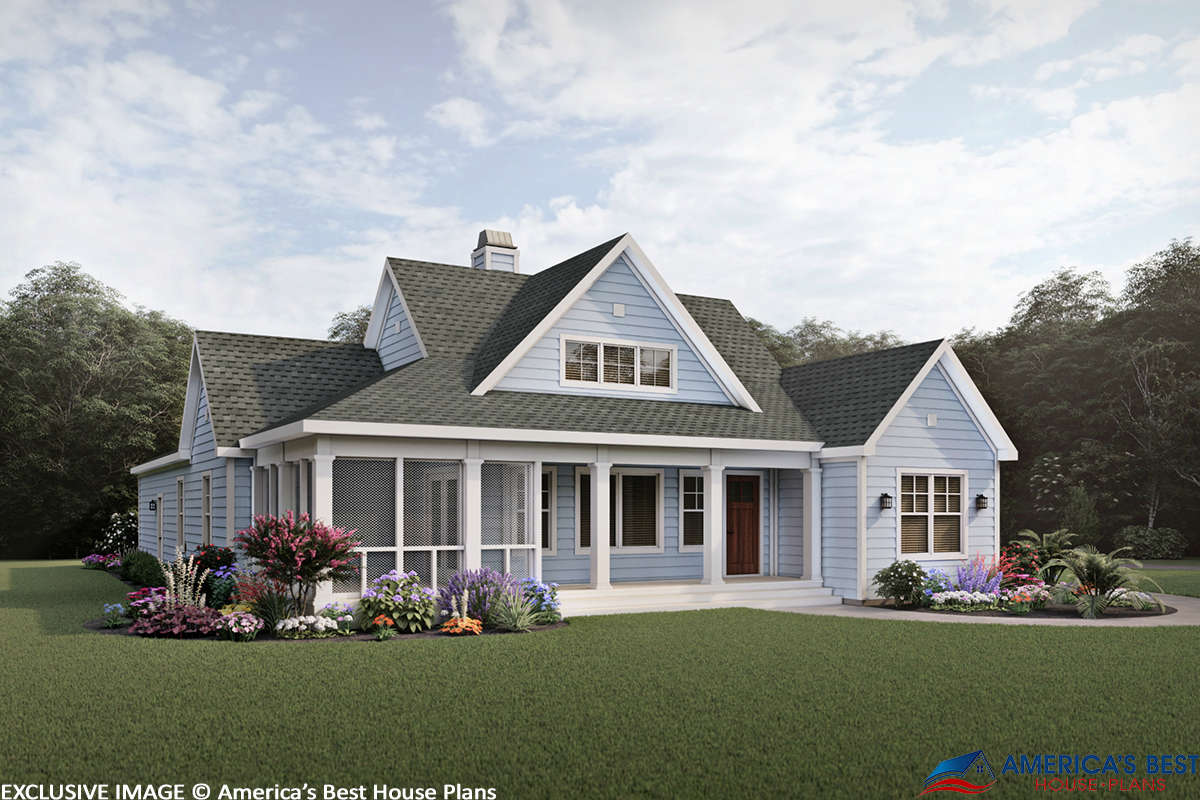 Country Plan: 1,809 Square Feet, 3 Bedrooms, 2.5 Bathrooms ...