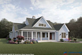 Country House Plan #3125-00026 Elevation Photo