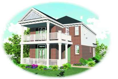 4 Bed, 2 Bath, 1867 Square Foot House Plan - #053-00046