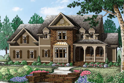 3 Bed, 2 Bath, 2877 Square Foot House Plan - #8594-00090