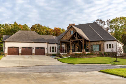 3 Bed, 3 Bath, 3739 Square Foot House Plan - #8318-00111