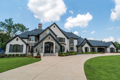 5 Bed, 6 Bath, 7519 Square Foot House Plan #8318-00113