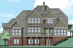 Tudor House Plan #8594-00116 Elevation Photo
