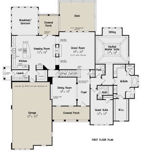 Main Floor for House Plan #8594-00116