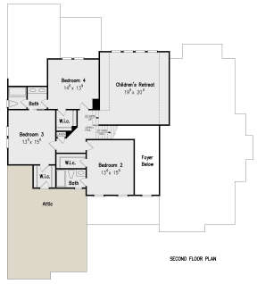 Second Floor for House Plan #8594-00116