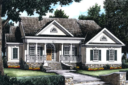 3 Bed, 2 Bath, 1856 Square Foot House Plan #8594-00121