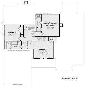 Second Floor for House Plan #8594-00133