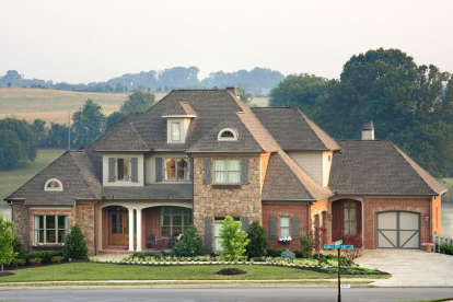 5 Bed, 4 Bath, 3482 Square Foot House Plan #8594-00151