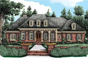 Country House Plan #8594-00161 Elevation Photo
