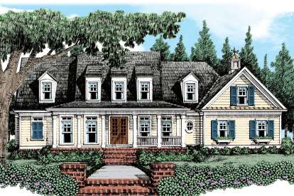 4 Bed, 3 Bath, 3164 Square Foot House Plan - #8594-00176