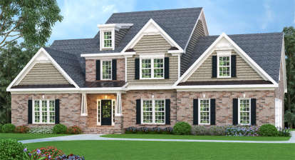 4 Bed, 2 Bath, 2954 Square Foot House Plan - #009-00005