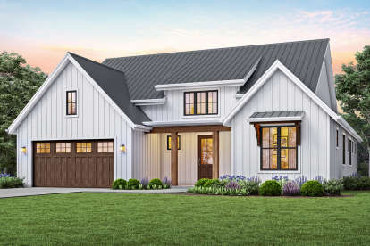 3 Bed, 2 Bath, 1878 Square Foot House Plan #2559-00815