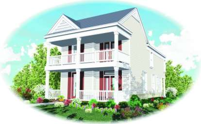 3 Bed, 2 Bath, 1855 Square Foot House Plan - #053-00053