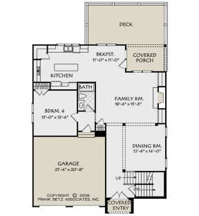 Main Floor for House Plan #8594-00208