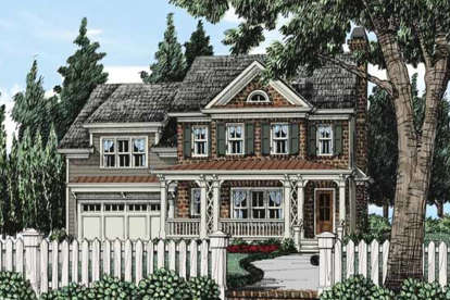 5 Bed, 4 Bath, 3810 Square Foot House Plan - #8594-00218