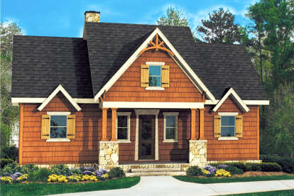 3 Bed, 2 Bath, 1974 Square Foot House Plan - #699-00134