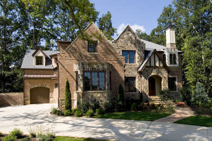 5 Bed, 5 Bath, 5684 Square Foot House Plan - #699-00146